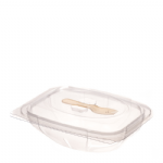 750g Hinged Salad Pack With Fork
